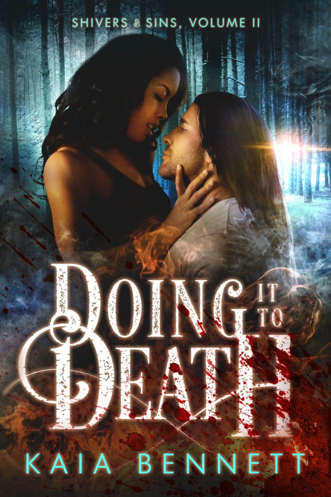 Cover Art for Doing It To Death by Kaia Bennett