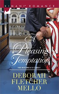 Cover Art for A Pleasing Temptation by Deborah Fletcher Mello