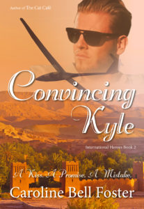 Cover Art for Convincing Kyle by Caroline Bell Foster