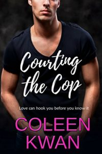 Cover Art for Courting the Cop by Coleen Kwan