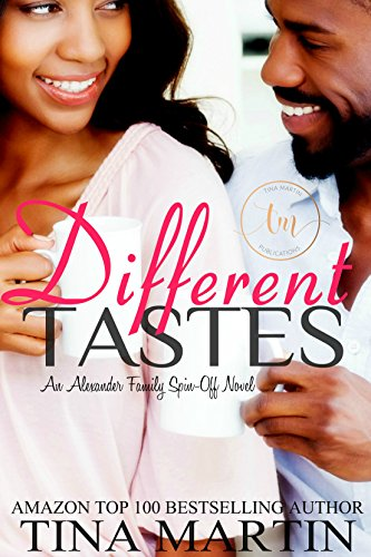 Cover Art for DIFFERENT TASTES by Tina Martin