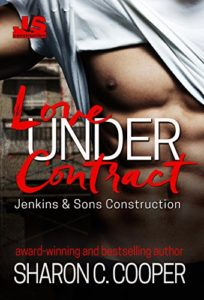 Cover Art for Love Under Contract by Sharon Cooper