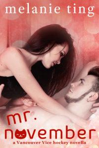 Cover Art for Mr. November by Melanie Ting