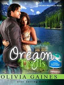 Cover Art for Oregon Trails by Olivia Gaines
