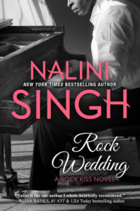 Cover Art for ROCK WEDDING by Nalini Singh