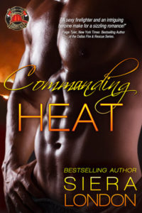 Cover Art for Commanding Heat: A Fiery Fairy Tales Novella by Siera London