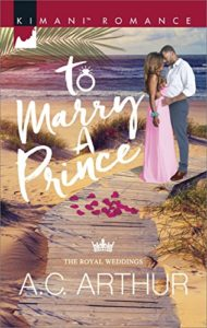 Cover Art for To Marry a Prince by A. C.  Arthur