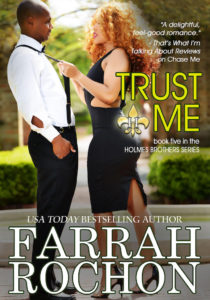 Cover Art for Trust Me by Farrah Rochon