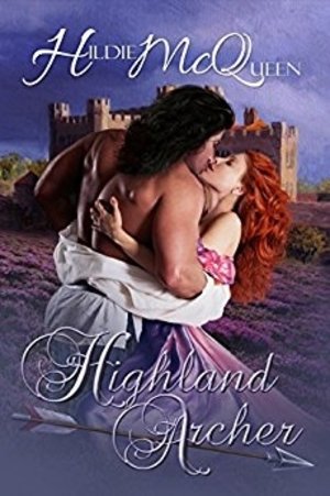 Cover Art for THE HIGHLAND ARCHER by Hildie McQueen
