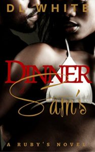 Cover Art for Dinner at Sam's by D. L. White