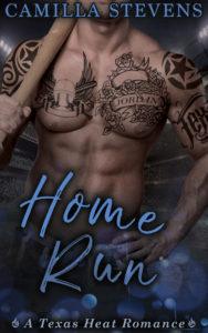 Cover Art for Home Run by Camilla Stevens