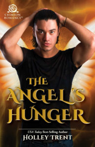 Cover Art for The Angel's Hunger by Holley Trent