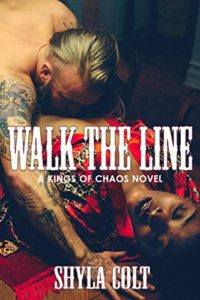 Cover Art for Walk the Line by Shyla Colt