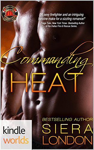 Cover Art for Commanding Heat by Siera London