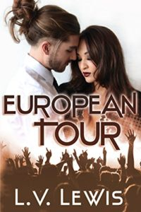 Cover Art for European Tour by L.V. Lewis
