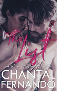 Cover Art for The List by Chantal  Fernando