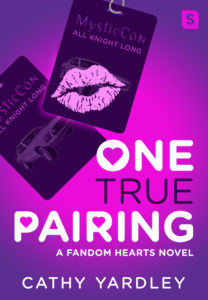 Cover Art for One True Pairing by Cathy Yardley