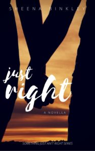 Cover Art for Just Right by Sheena Binkley