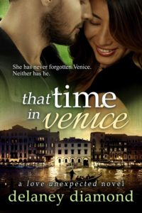 Cover Art for That Time in Venice by Delaney Diamond