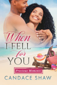 Cover Art for When I Fell for You by Candace Shaw