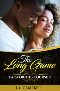 Cover Art for The Long Game by J.L. Campbell