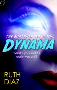Cover Art for DYNAMA by Ruth DIaz