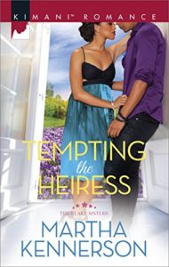 Cover Art for TEMPTING THE HEIRESS by MARTHA Kennerson