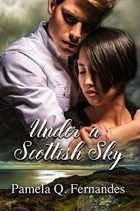 Cover Art for UNDER A SCOTTISH SKY by Pamela  Q. Fernandes