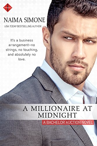 Cover Art for A MILLIONAIRE AT MIDNIGHT by Niama Simone
