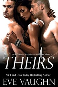 Cover Art for THEIRS by Eve Vaughn