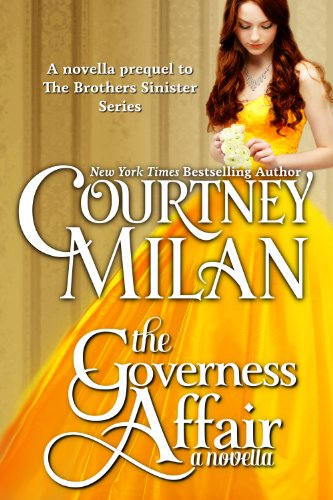 Cover Art for THE GOVERNESS AFFAIR by Courtney Milan