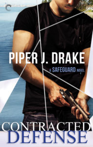Cover Art for Contracted Defense by Piper J. Drake