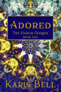 Cover Art for Adored: The Harem Diaries Book One by Karis Bell