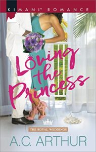 Cover Art for Loving the Princess by A.C. Arthur