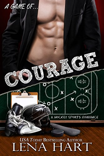 Cover Art for A Game of COURAGE by Lena Hart