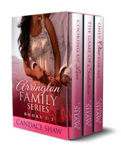 Cover Art for The Arrington Family Series Box Set (Books 1 to 3) by Candace Shaw