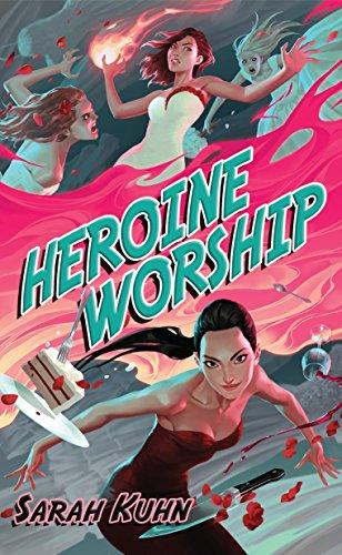 Cover Art for Heroine Worship by Sarah Kuhn