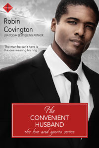 Cover Art for His Convenient Husband by Robin Covington