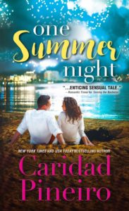Cover Art for One Summer Night by Caridad Pineiro