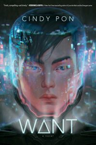 Cover Art for Want by Cindy Pon