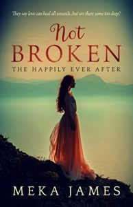 Cover Art for Not Broken by Meka James