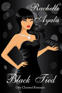 Cover Art for Black Tied: Love Charmed Romance #1 by Rachelle Ayala