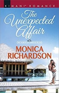 Cover Art for The Unexpected Affair by Monica Richardson