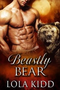 Cover Art for Beastly Bear by Lola Kidd