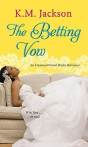 Cover Art for The Betting Vow by K.M. Jackson