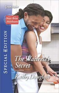 Cover Art for The Waitress's Secret by Kathy Douglass