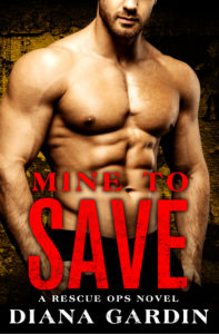 Cover Art for Mine to Save by Diana Gardin