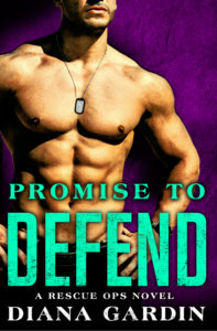Cover Art for Promise to Defend by Diana Gardin