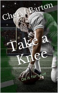 Cover Art for Take a Knee by Cheryl Barton