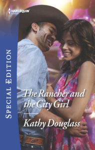 Cover Art for The Rancher and the City Girl by Kathy Douglass